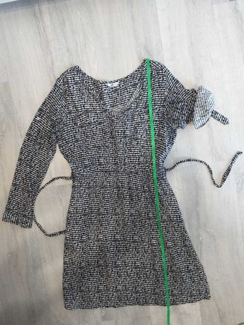 Sukienka, 38, wygodna, z kieszeniami