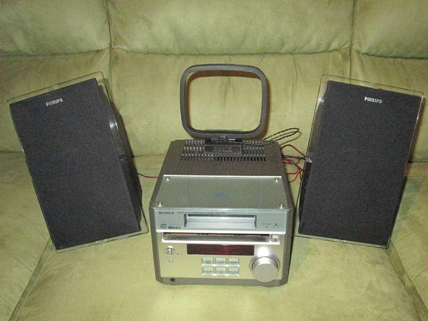 Miniwieża SONY CMT-RB5 - kombajn CD z radiem