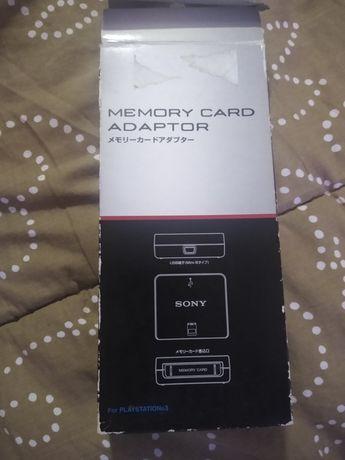 Adaptador oficial Sony de cartões de memória para PS3