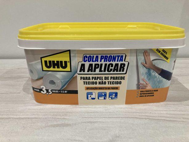 Kit para aplicação papel de parede (cola e outros)