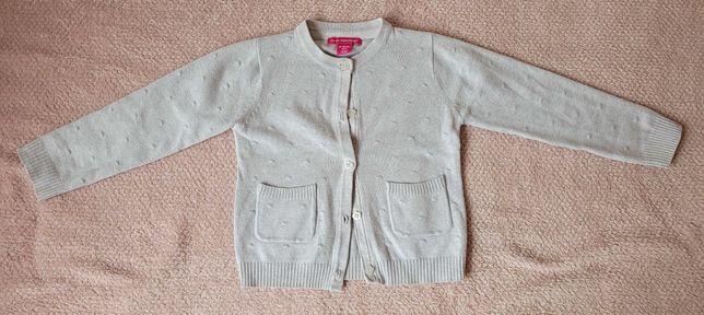 Sweterek rozpinany r 98