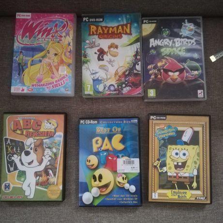 Gry dla dzieci na plytach DVD