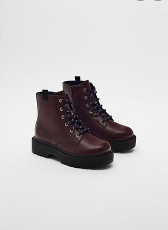 Сароги ботинки zara