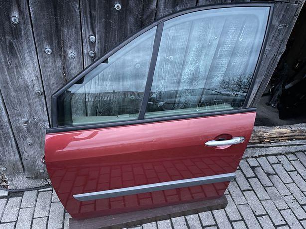 Renault Scenic II Drzwi Przód Tył prawa TEB76