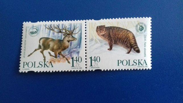 Polsko-ukraińska współpraca przygraniczna - znaczki pocztowe - 1999