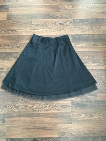 Vero Moda czarna spódnica podszyta tiulem rozmiar 38