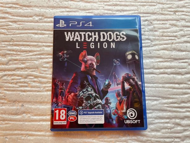 Watch Dogs Legion / Ps4 / PS5 / Sklep Gamebox / Wymiana Gier