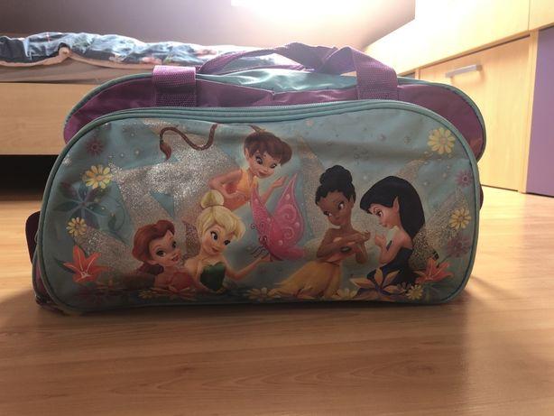 Bardzo pojemna torba dla dziewczynki