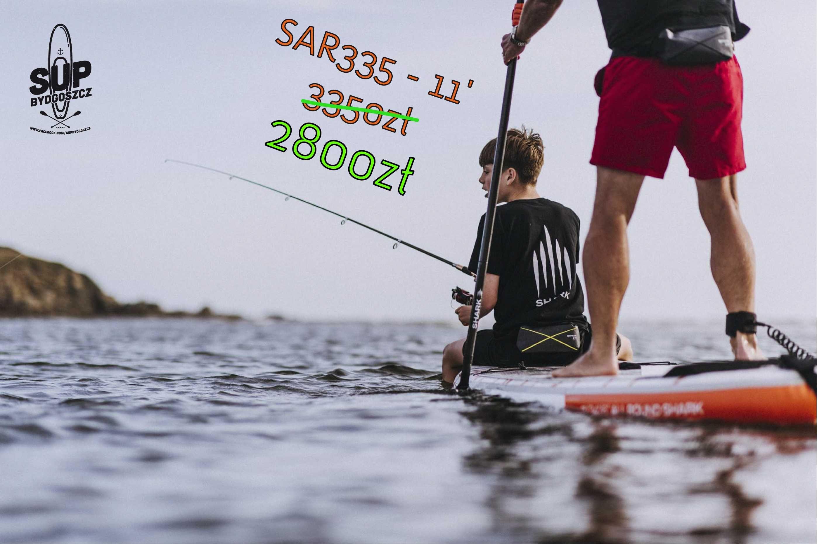 PROMOCJA - Deska SUP Shark SUP Allround 11' [SAR-335]