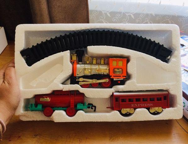 Игрушки железная дорога, поезд, жд станция , магнитная машинка