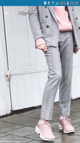 H&M eleganckie spodnie krata 36