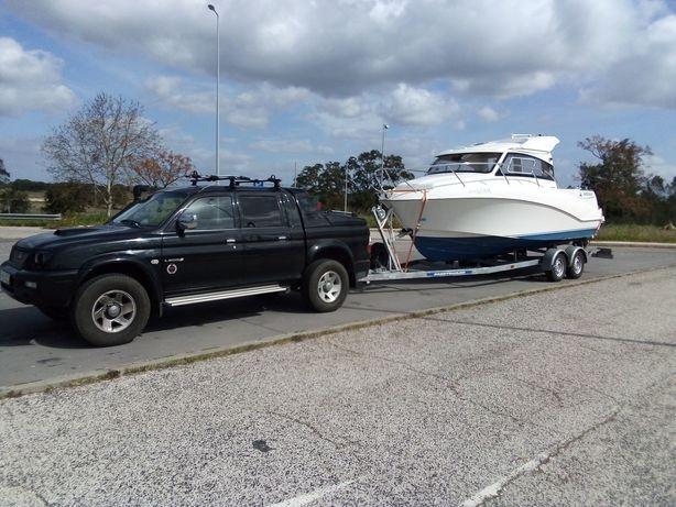 Reboque / Push de Barcos, Caravanas, Roulottes e Atrelados