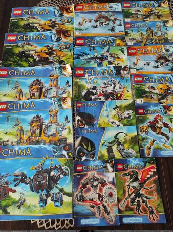 Klocki  Lego 12kg Zestawy / Instrukcje