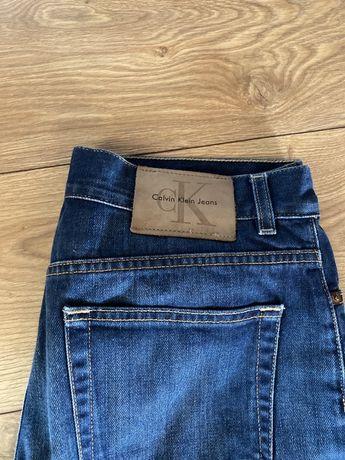 Spodnie Calvin Clein jeansy damskie