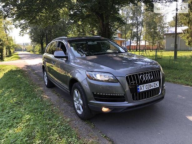 Audi q7 2012 3.0 tfsi PREMIUM PLUS