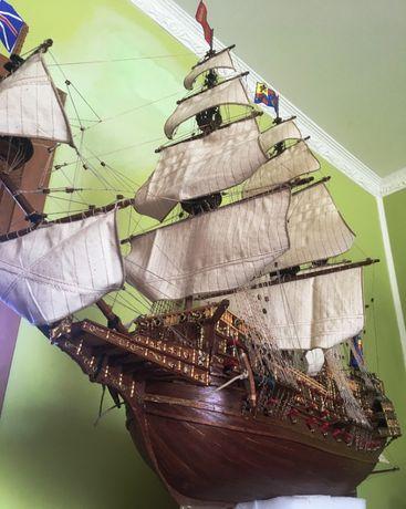 Продам модель фрегата * Повелитель морей*