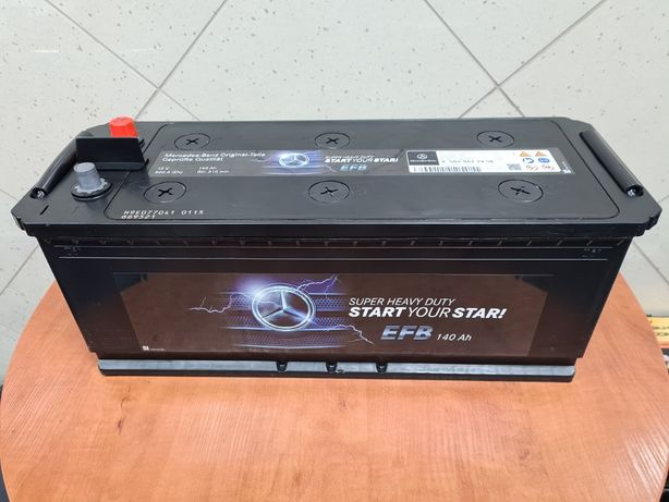 WAW Nowy akumulator Oryginał MERCEDES 140Ah 800A EFB- Varta Bosch