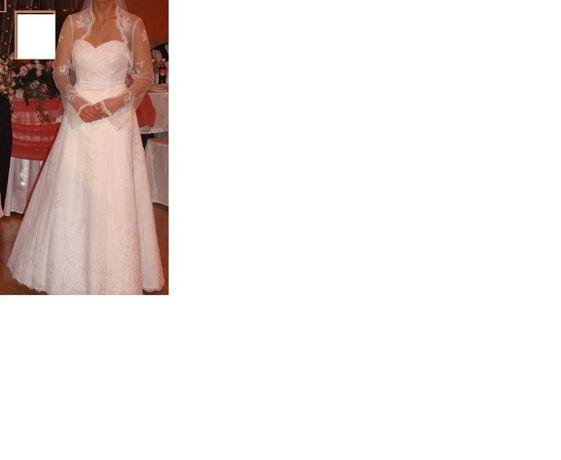 Suknia ślubna+bolerko