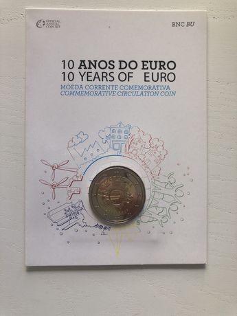 Moeda - 10 Anos do Euro