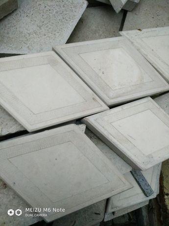 Плитка бубна из бетона 140 гр