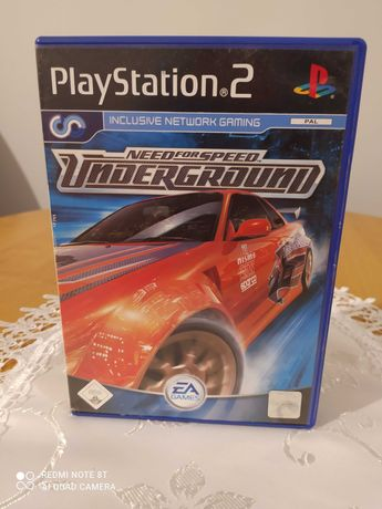 Need for Speed underground PlayStation 2 / Ps2
