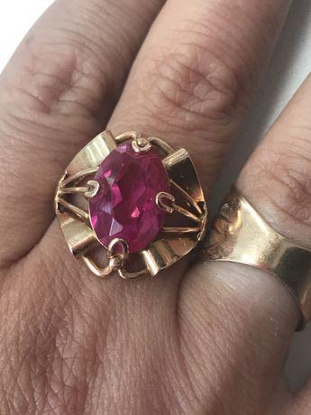 Кольцо золото паук 18,5 СССР