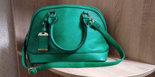 Сумка зеленого кольору