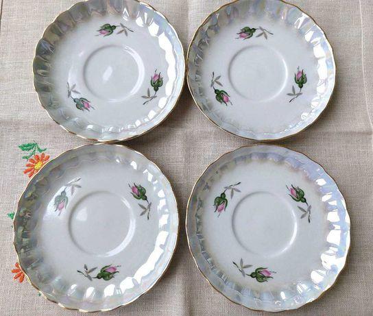 Блюдце тарілка сервіз сервиз Коростень фарфор посуд