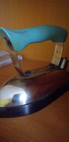 Stare żelazko kawa 400w  vintage,  PRL, antyk