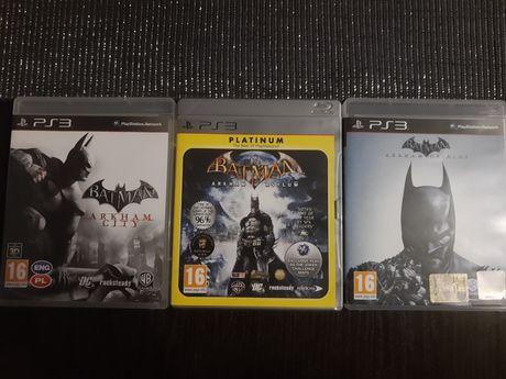 Sprzedam gry na PS3 BATMAN