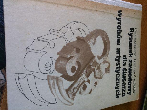 Rysunek zawodowy dla ślusarza wyrobów artystycznych