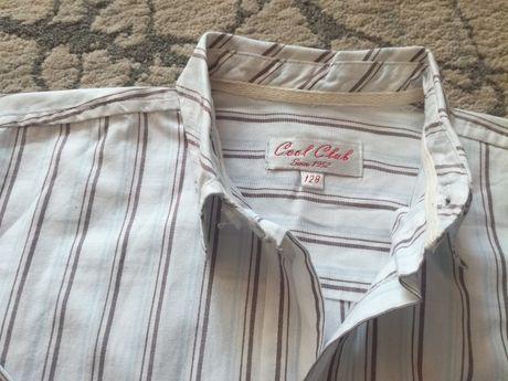Zestaw: spodnie koszule t-shirty, chłopiec rozmiar 122- 8 sztuk