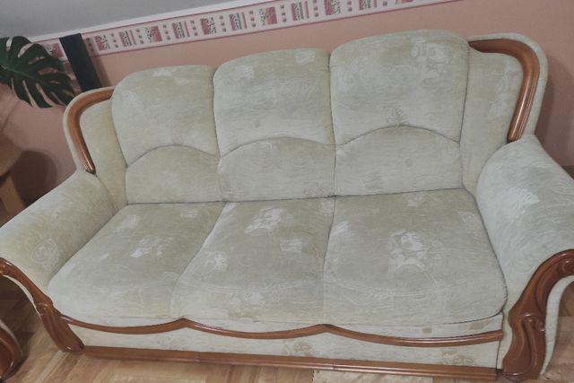 Sprzedam komplet mebli sofa 3 osobowa+ 2 osobowa + fotel okazja