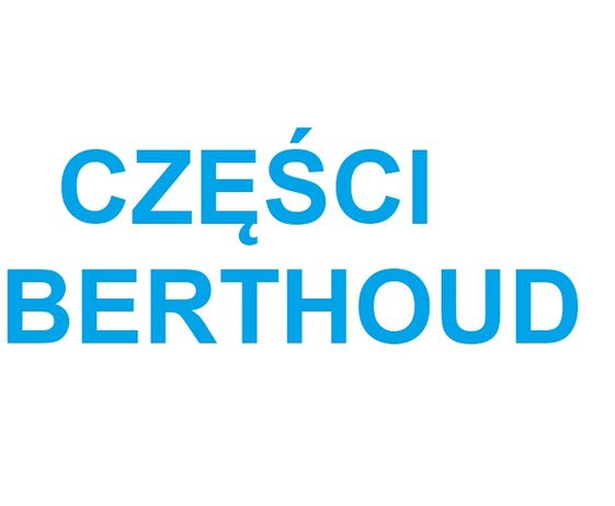 Części Berthoud Filtr Zestaw naprawczy pompy