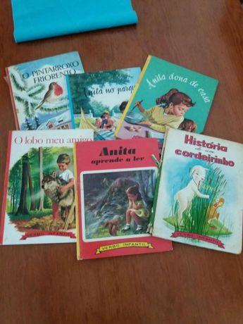 Livros coleção Anita