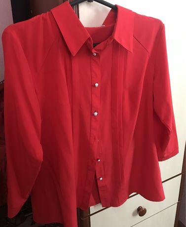 Продам блузу красного цвета