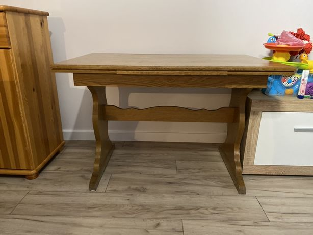 Stol drewniany rozkladany