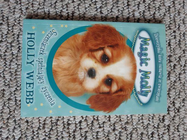 książka Magic Molly. Szczeniaczek spełniający życzenia - Holly Webb