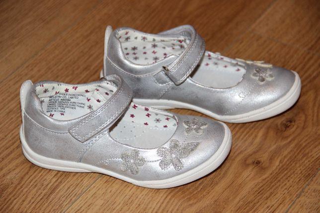 Детские туфли балетки Beeko 27 размер новые кожаная стелька