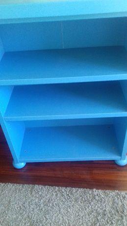 Movel ikea azul criança 77×32×100