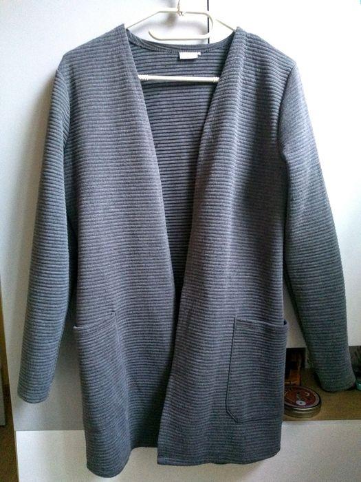 Długi sweter kardigan blezer S Krosno - image 1