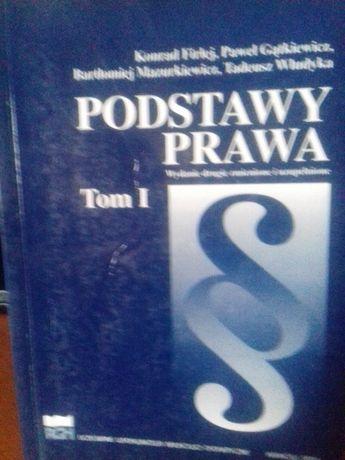 Podstawy prawa wydanie drugie zmienione i uzupełnione Tadeusz Włudyka