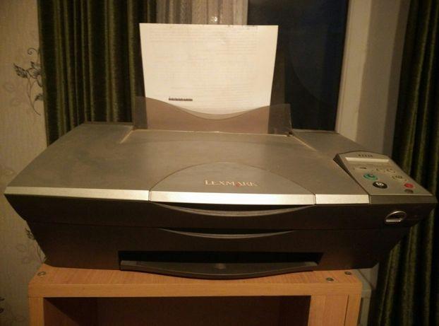 Мфу, принтер, сканер, ксерокс Lexmark 3300, нерабочий