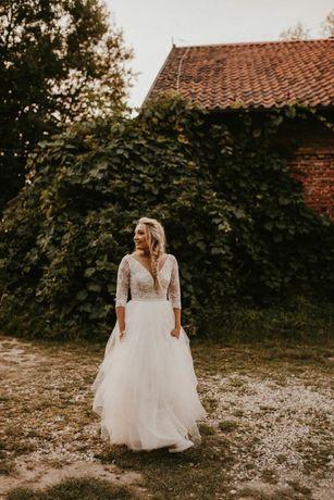 Suknia ślubna od Sylwii Kopczynskiej