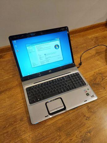 Mocny 17 calowy laptop HP,Intel Core,3gb ram,160 dysk kamerka do nauki