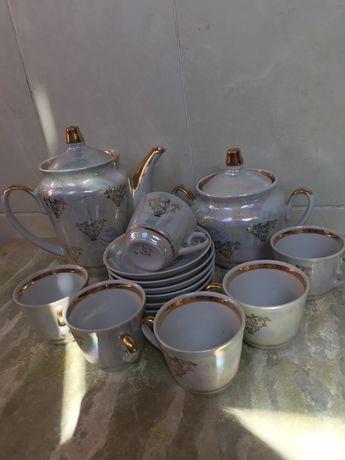 Фарфоровые кофейные сервизы