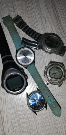 Zegarki stare złom części