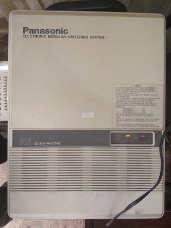 Мини АТС Panasonic easa-phone 308 +системный телефон +2 радио телефона