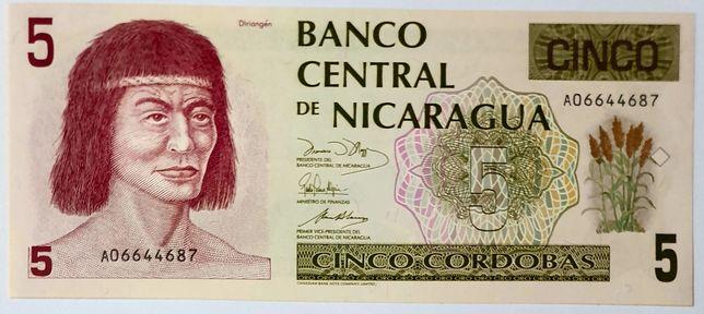 Banknot NIKARAGUA UNC polecam