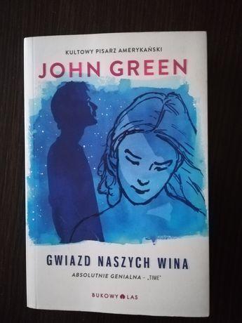 """""""Gwiazd naszych wina"""" John Green"""